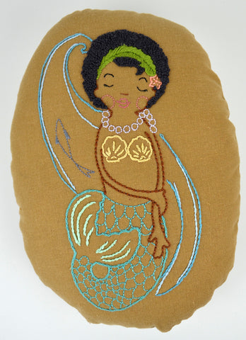SeaStar Mermaid Embroidery Project Kit