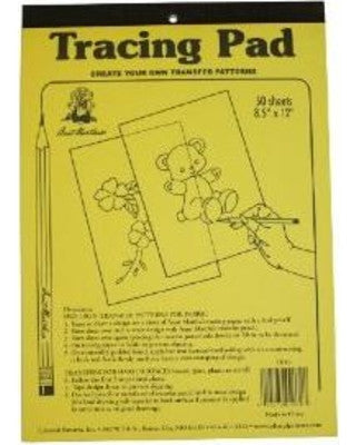 "Aunt Martha's Tracing Paper 9""x12"" pad (50 sheets)"
