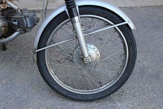 1965 Honda Super 90 front tire