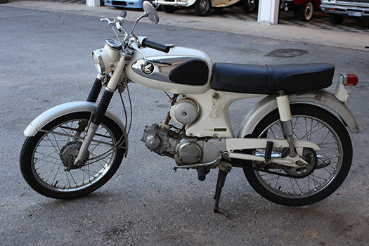 1965 Honda Super 90 profile