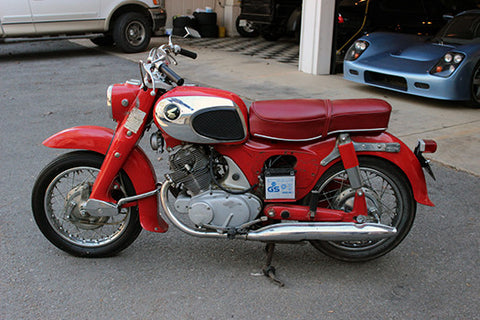 1967 Honda CL77 Scrambler for rent