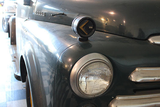1949 Dodge Pilothouse Pickup Truck headlight