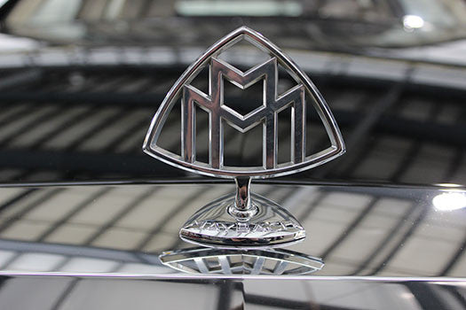 Maybach hood ornament
