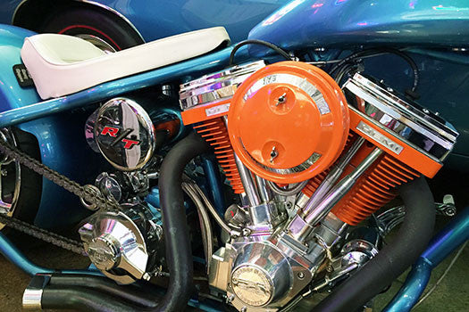 Hemi Custom Charger Chopper close up