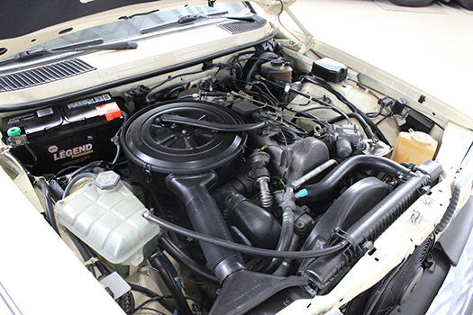 1983 Mercedes 300D engine