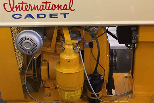 1962 International Harvester Cub Cadet engine