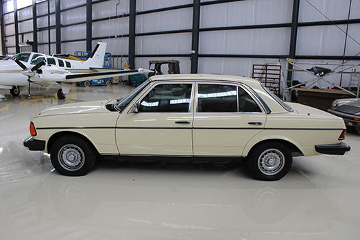 1983 Mercedes 300D for rent
