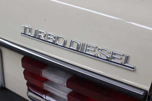 1983 Mercedes 300D turbo diesel