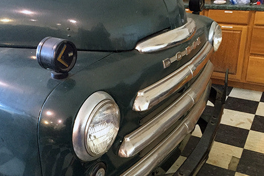 1949 Dodge Pilothouse Pickup Truck grill