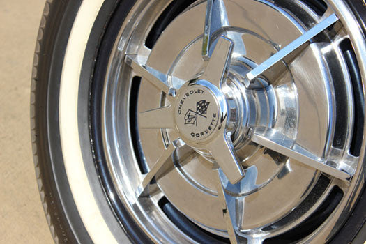 1963 Chevy Corvette Stingray tires