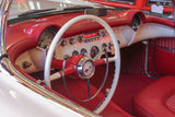 1953 Chevy Corvette Convertible interior