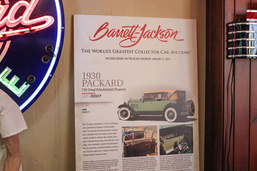 Barret Jackson ad for packard