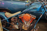 Hemi Custom Charger Chopper engine