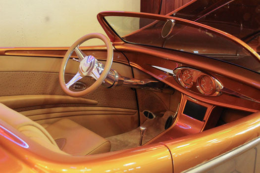 Boyd Codington Speed Star interior