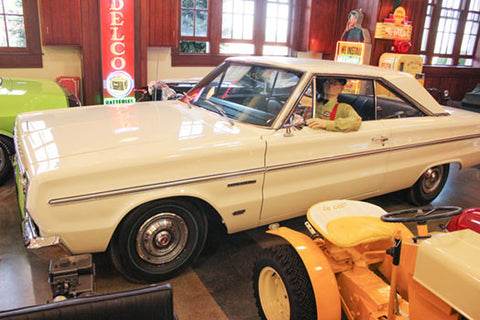 1966 PLYMOUTH HEMI BELVEDERE II - CLEMENT MESSINO BANK ROBBERY CAR