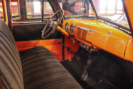 1951 Chevy Pickup Truck interior