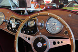 1953 MG Roadster dashboard