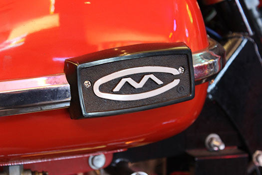 1961 Cushman Motor scooter badge