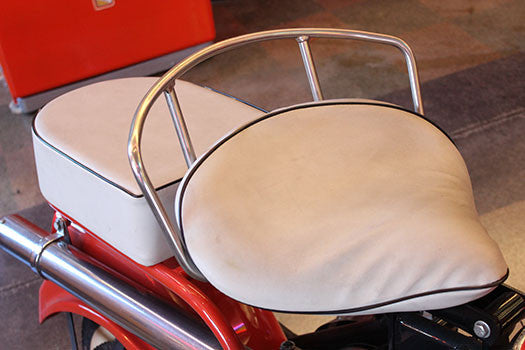 1961 Cushman Motor scooter leather seat