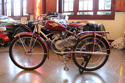 Short Term Car Rental >> 1948 SCHWINN WHIZZER MOTORBIKE | Creekridge Classic Car Collection