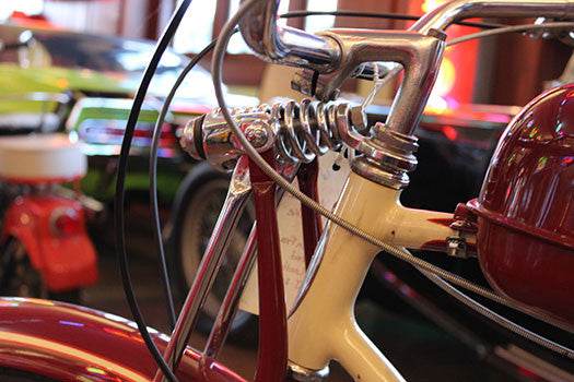 1948 Schwinn Whizzer handle bars