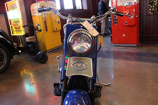 1961 Cushman Motor scooter headlight