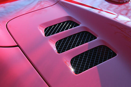 Ferrari 458 Spider engine vents