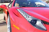 Ferrari 458 Spider front headlights