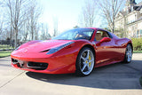 Ferrari 458 Spider for rent