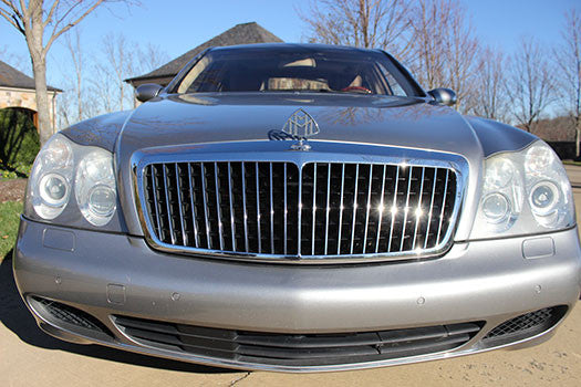2004 Maybach 57 front end