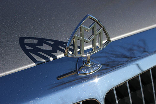 2004 Maybach 57 hood ornament