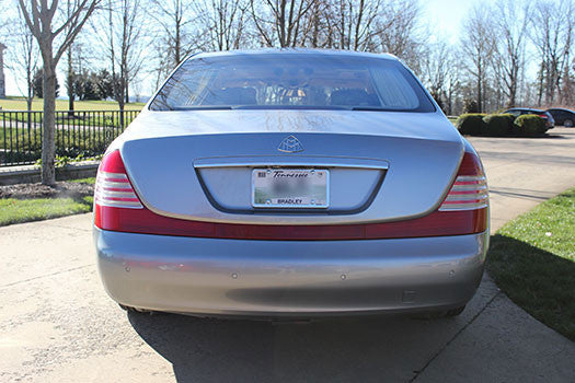 2004 Maybach 57 rear