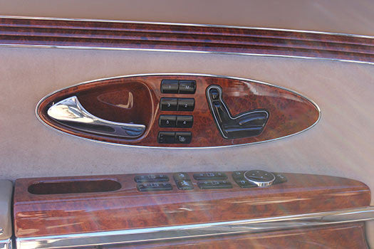 2004 Maybach 57 door controls