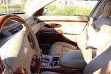 2004 Maybach 57 cockpit