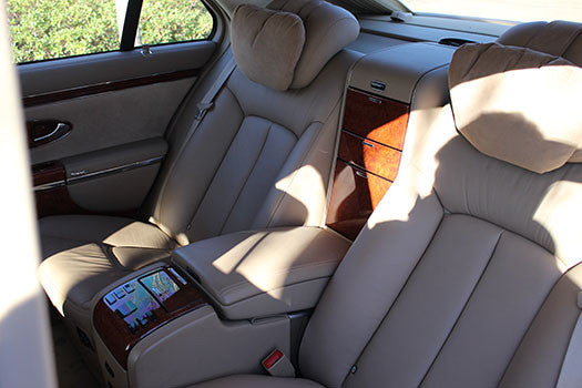 2004 Maybach 57 rear seating