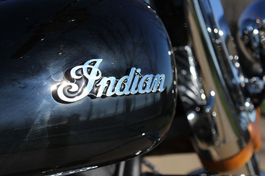 2014 Indian Motorcycle indian badge