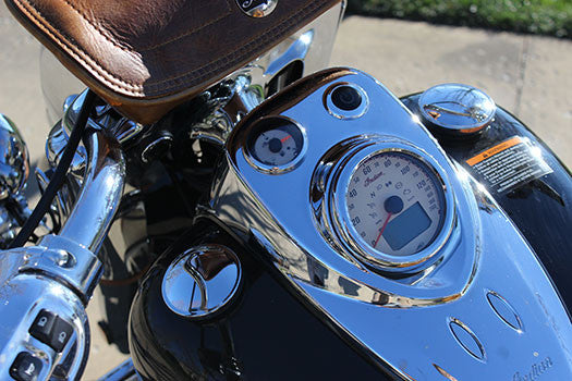2014 Indian Motorcycle speedometer