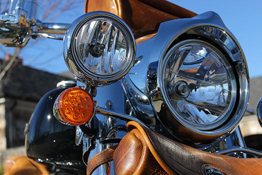 2014 Indian Motorcycle headlight