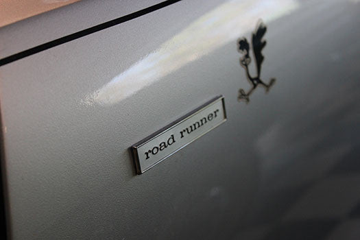 1968 Plymouth Roadrunner badge