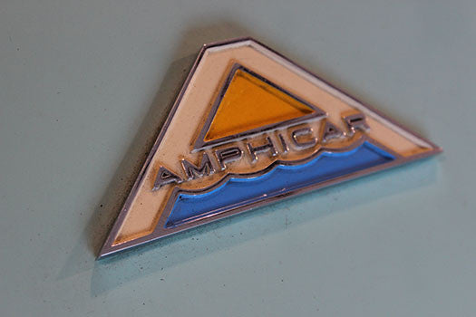 1962 Amphicar Amphibious Convertible badge