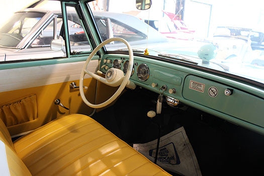 1962 Amphicar Amphibious Convertible interior