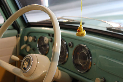 1962 Amphicar Amphibious Convertible sterring wheel
