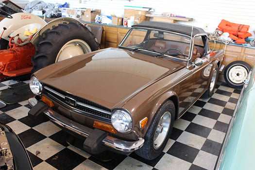 1974 Triumph TR6 for rent