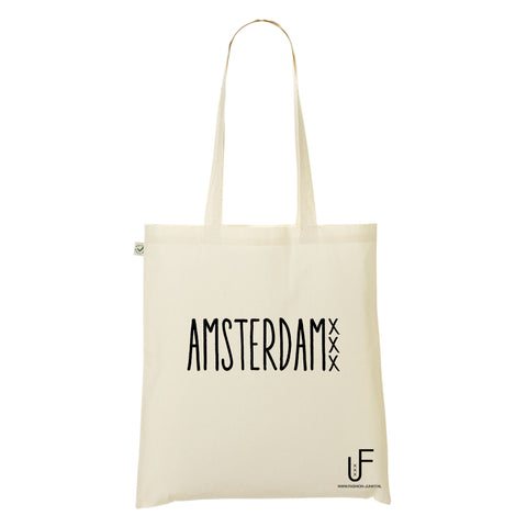 Organic Shopping bag Amsterdam Fashion Junky