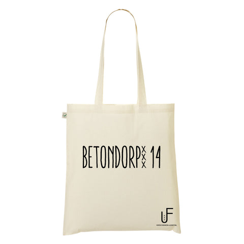 Betondorp 14 Organic Shopping bag Fashion Junky Amsterdam
