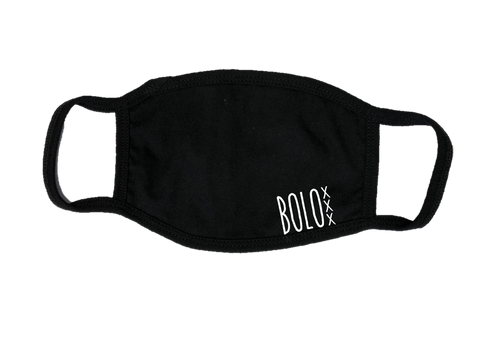 Mondkapje Face mask BOLO met filter FASHION JUNKY small logo.