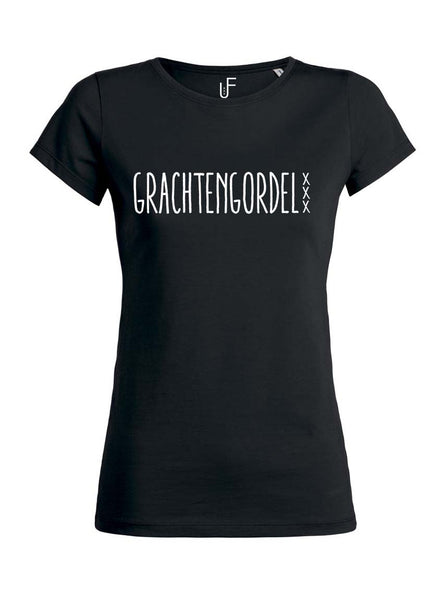 Grachtengordel T-shirt Fashion Junky Amsterdam tshirt Woman