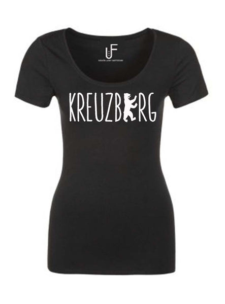 Kreuzberg T-shirt Fashion Junky Berlin tshirt Woman