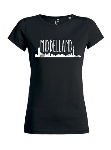 Middelland T-shirt Fashion Junky Rotterdam Woman