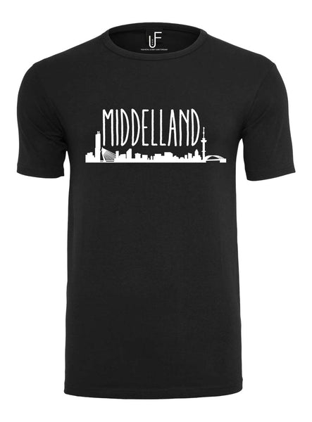 Middelland T-shirt Fashion Junky Rotterdam Men